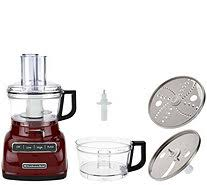 kitchenaid 9 cup exactslice food processor w julienne disc page