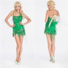 Green Fairy Halloween Costume Cheap Tinkerbell Fairy Costume Aliexpress