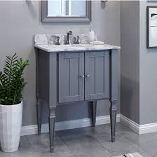 Elements Bathroom Furniture Bath Elements Bathroom Vanity With White Marble Top