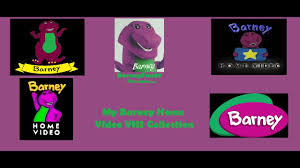 my barney home video vhs collection youtube