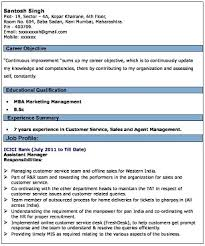 Proforma Of Resume For Job by Cv Format For Banking Jobs U2013 Resume Writing Tips