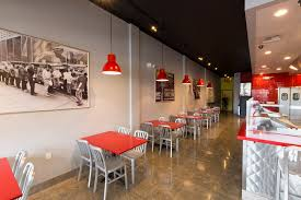 Fast Casual Restaurant Interior Design The Halal Guys Franchise