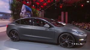 tesla announces model 3 an all electric sedan for the masses