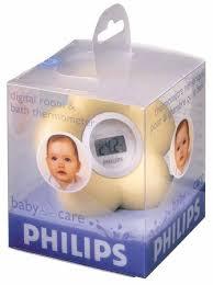 thermometre bain et chambre philips thermomètre bain et chambre pour bébé sch550 20 krëfel
