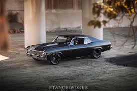 stanced muscle cars kill all tires brian scotto u0027s 1972 chevy u0027napalm nova stanceworks