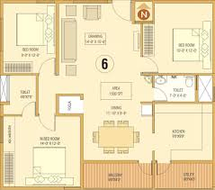 1500 sq ft 3 bhk 2t apartment for sale in dream home builders and