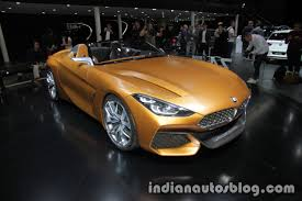 bmw concept bmw concept z4 front three quarters at iaa 2017 indian autos blog