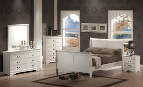 white cottage bedroom furniture white fabric cover bed frame white