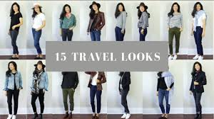 travel outfits images 15 travel outfits easy travel lookbook jpg