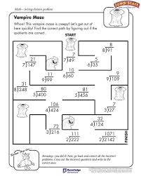 fun division worksheets 4th grade worksheets