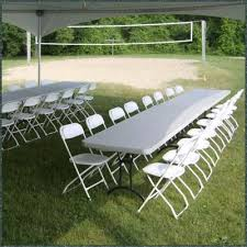 Renting Folding Chairs Tents Tables And Chairs