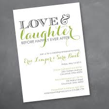 Death Anniversary Invitation Card Love And Laughter Rehearsal Dinner Invitation By Kmddesignsllc