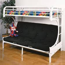 White Metal Bunk Bed White Futon Metal Bunk Bed All American Furniture