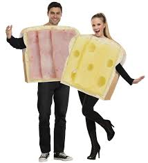 couples costume ham and swiss couples costume costumes