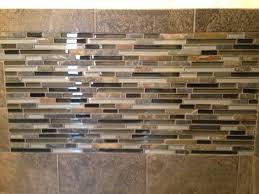 Plain Charming Stone And Glass Backsplash Tiles Glass Mosaic Tile - Mosaic backsplash tile