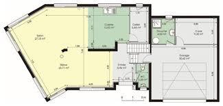plan maison contemporaine plain pied 4 chambres cuisine maison contemporaine dã du plan de maison