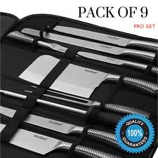 professional kitchen knives set professional chef knife set ebay