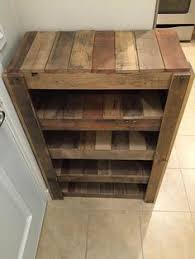 Reclaimed Wood Shelves Diy by 21 Diy Shoes Rack U0026 Shelves Ideas Diy Shoe Rack Rack Shelf And