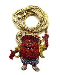 hip hop necklace charms images Iced out kool aid man diamond cz hip hop bling pendant bling jewelz jpg