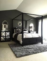 Black Canopy Bed Simple Black Bedroom Canopy Decorating Ideas Living Pinterest