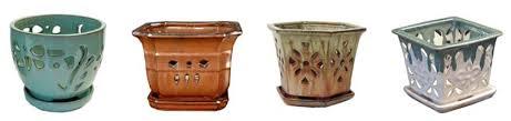 ceramic orchid pots