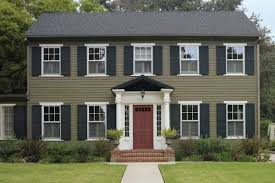 exterior paint colors colonial homes exterior gallery