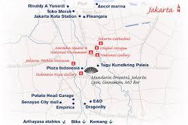 Map Of Jakarta Jakarta Attractions Destination Mo By Mandarin Oriental