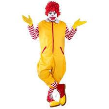 clown costume ronald the clown costume costumeish cheap
