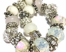 pandora style bead necklace images Pandora style beads etsy jpg