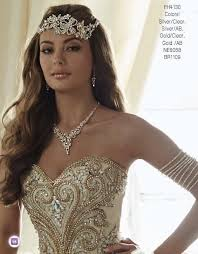 headpiece jewelry royale princess headpiece fh4130 quinceanera jewelry grace