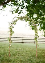 Wedding Arch Ideas Simple Outdoor Wedding Ceremony Arch Ideas Once Wed
