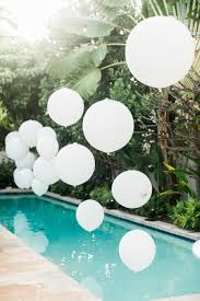 13 breathtaking ways to dress up a pool for a wedding display