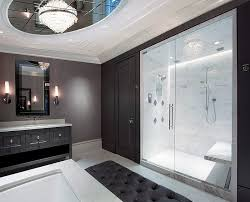 Black And White Bathroom Ideas Sleek Black And White Bathroom - Black bathroom designs