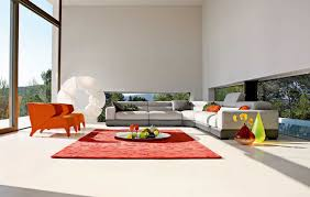 furniture breezy roche bobois furniture with red rugs and white