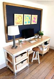 Diy Work Desk Easy Diy Desk Filterstock