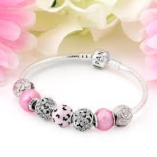 pandora all a flutter charm bracelet 1258 pandora bracelets