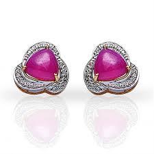 beautiful earrings beautiful ruby earring jacknjewel