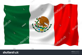 mexican flag waving wind stock illustration 49430872 shutterstock