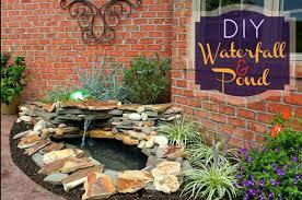 Backyard Waterfall Ideas Diy Backyard Pondless Waterfall Best Waterfall 2017