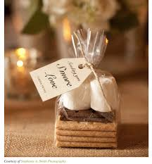 smores wedding favors wedding trend s mores bar productions