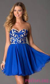 short blue homecoming dresses kzdress