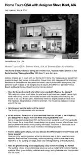 Home Design Story Questions Press Steven Kent Architects