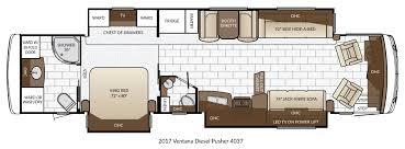 Rv Floor Plans Class A New 2017 Newmar Ventana 4037 Motor Home Diesel Diesel Oklahoma