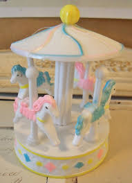carousel cake topper merry go carousel cake topper so sweet from
