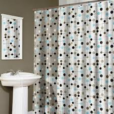 bathroom shower curtains 19 stylish idea chic polka dotted shower