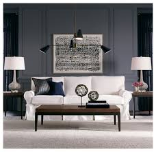 White Slipcovered Sofa by Alexa Ii Slipcover Sofa