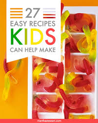 Kid Desserts For Thanksgiving Easy Recipes Kids Can Help Make Martha Stewart