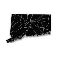 Connecticut State Map by Connecticut Acrylic Cutout State Map Modern Crowd Touch Of