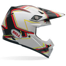 helmet motocross amazon com bell moto 9 carbon flex syndrome helmet red l automotive