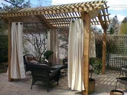 Pergola With Curtains Curtains For Pergola Cjphotography Me